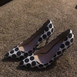 Aldo Shoes - Aldo Polka Dot heels